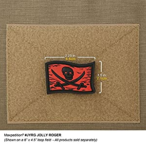 Maxpedition Jolly Roger Patch, Color