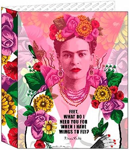 Frida Kahlo- Carpeta Folio 4 Anillas Lomo Ancho (SAFTA 561646657 ...