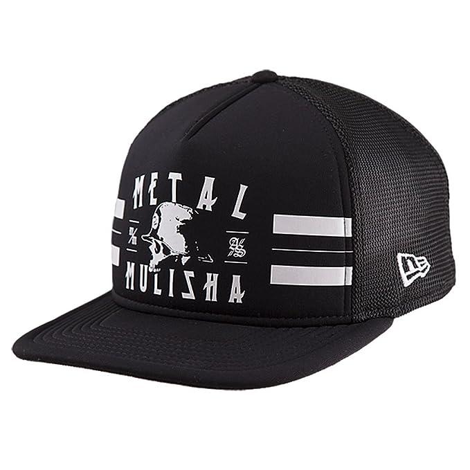 5360f8c0ec7 Metal Mulisha Men s New Era Trucker Snapback Logo Baseball Cap Hat ...