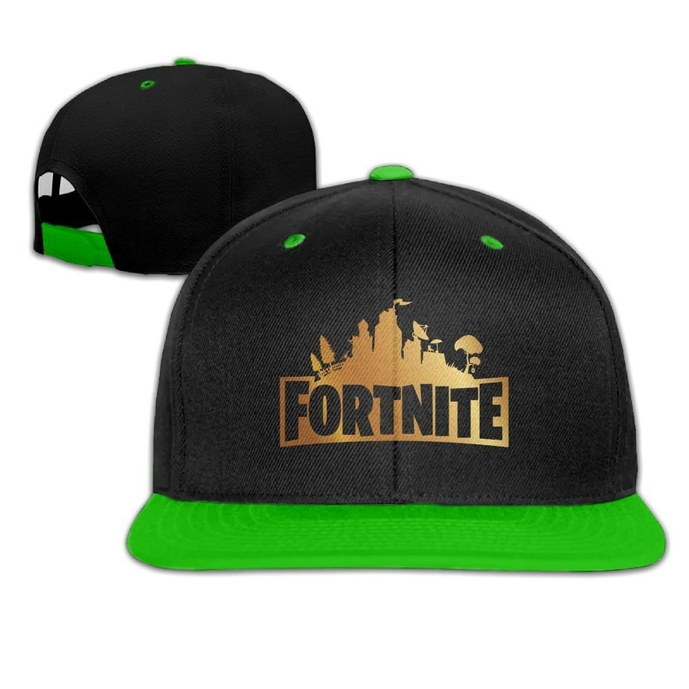 Fortnite Fashion Sport Cap Casual Hat (green)