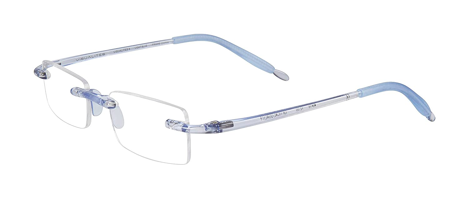 929ca299a55 Amazon.com  Visualities   8 Reading Glasses - Flexible Durable and  Incredibly Comfortable Readers  Health   Personal Care