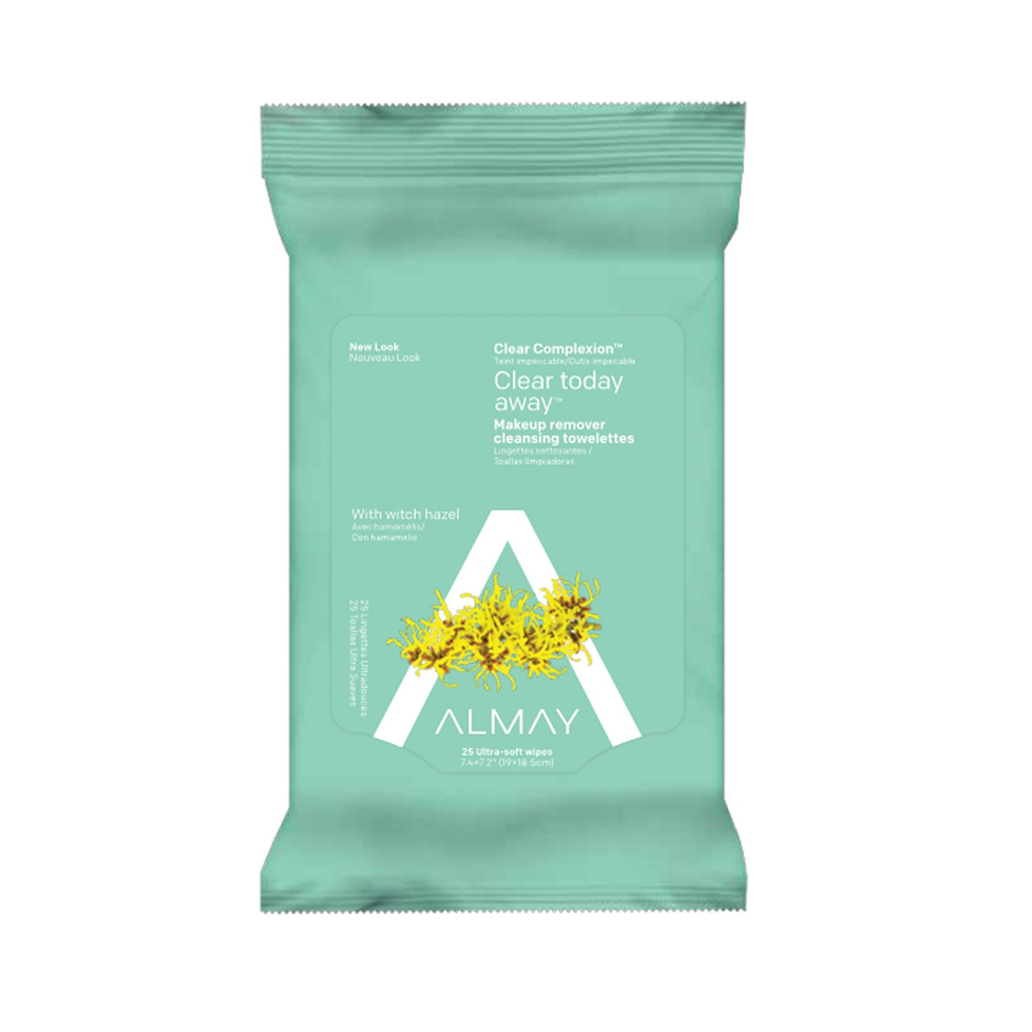 Amazon.com: Almay Night Soothing Makeup Remover Cleansing Towelettes With Vanilla And Chamomille: Beauty