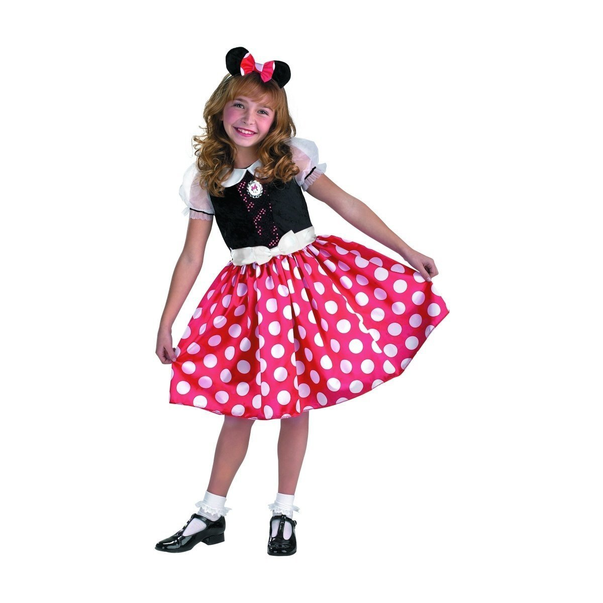 sc 1 st  Amazon.com & Amazon.com: Minnie Mouse Classic Child Costume - X-Small: Clothing