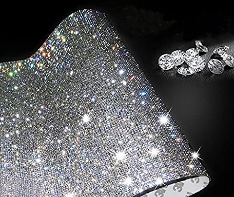 Ling's boutique(TM) 9000pcs bling crystal rhinestone DIY car decoration sticker (Rhinestone Peel And Stick)