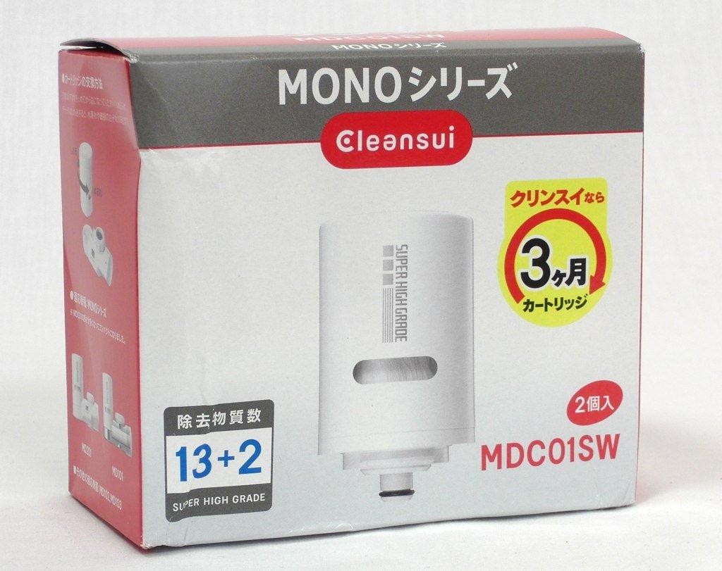三菱ケミカル・クリンスイ クリンスイモノシリーズ用交換カートリッジ スーパーハイグレード除去物質13+2(2個入) MDC01SW