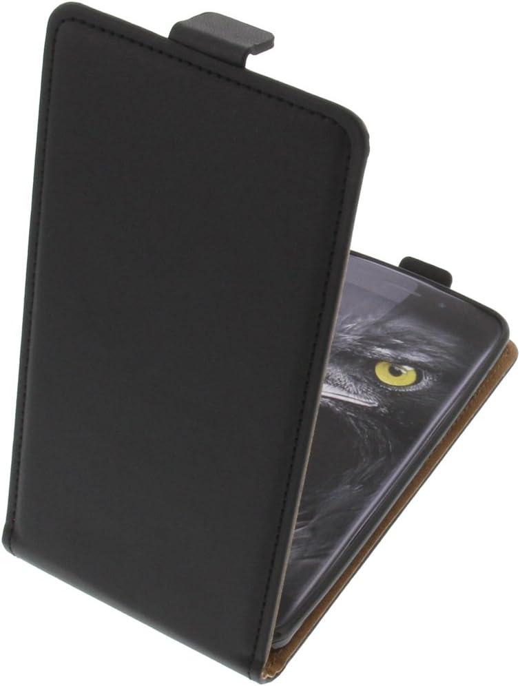 foto-kontor Funda para Ulefone Metal Protectora Tipo Flip para móvil Negra