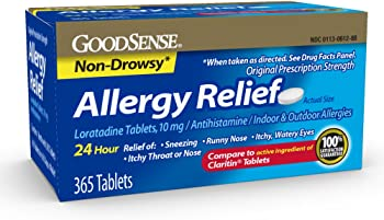 GoodSense 365 Count 10mg Allergy Relief Loratadine Tablets