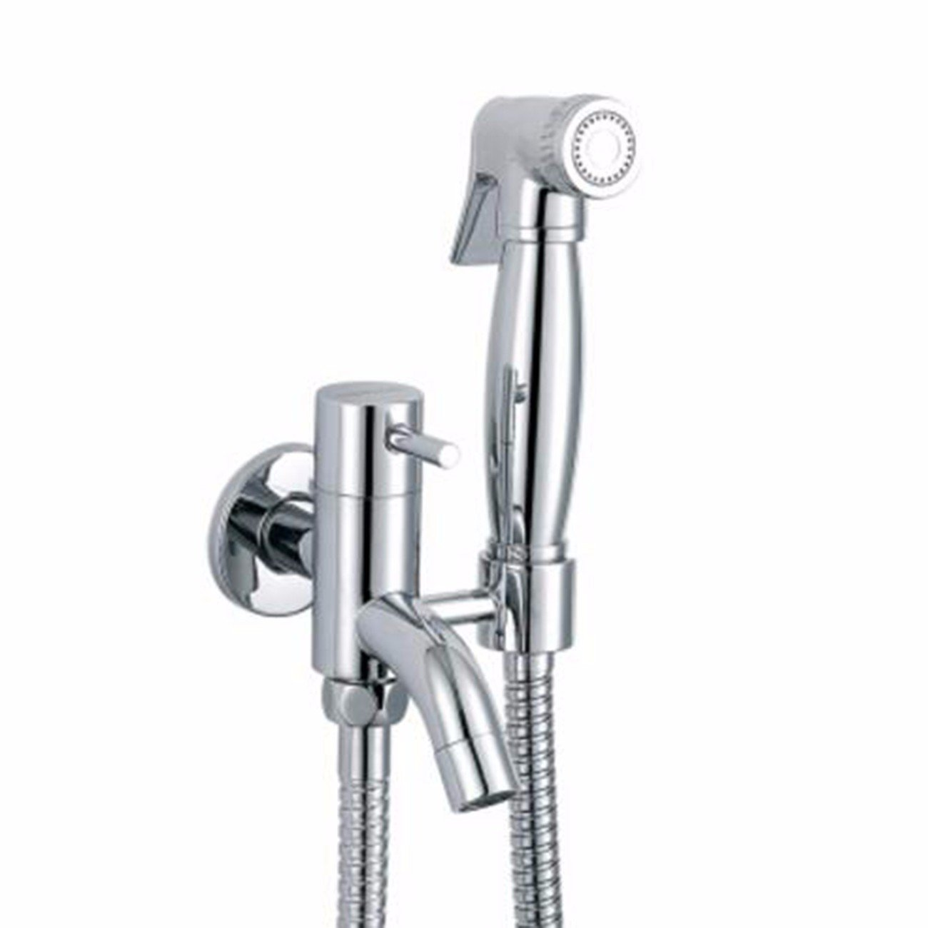 Brass One In Two Out Bidet Washer Body Washer Set Mop Pool Faucet With Spray Gun,A