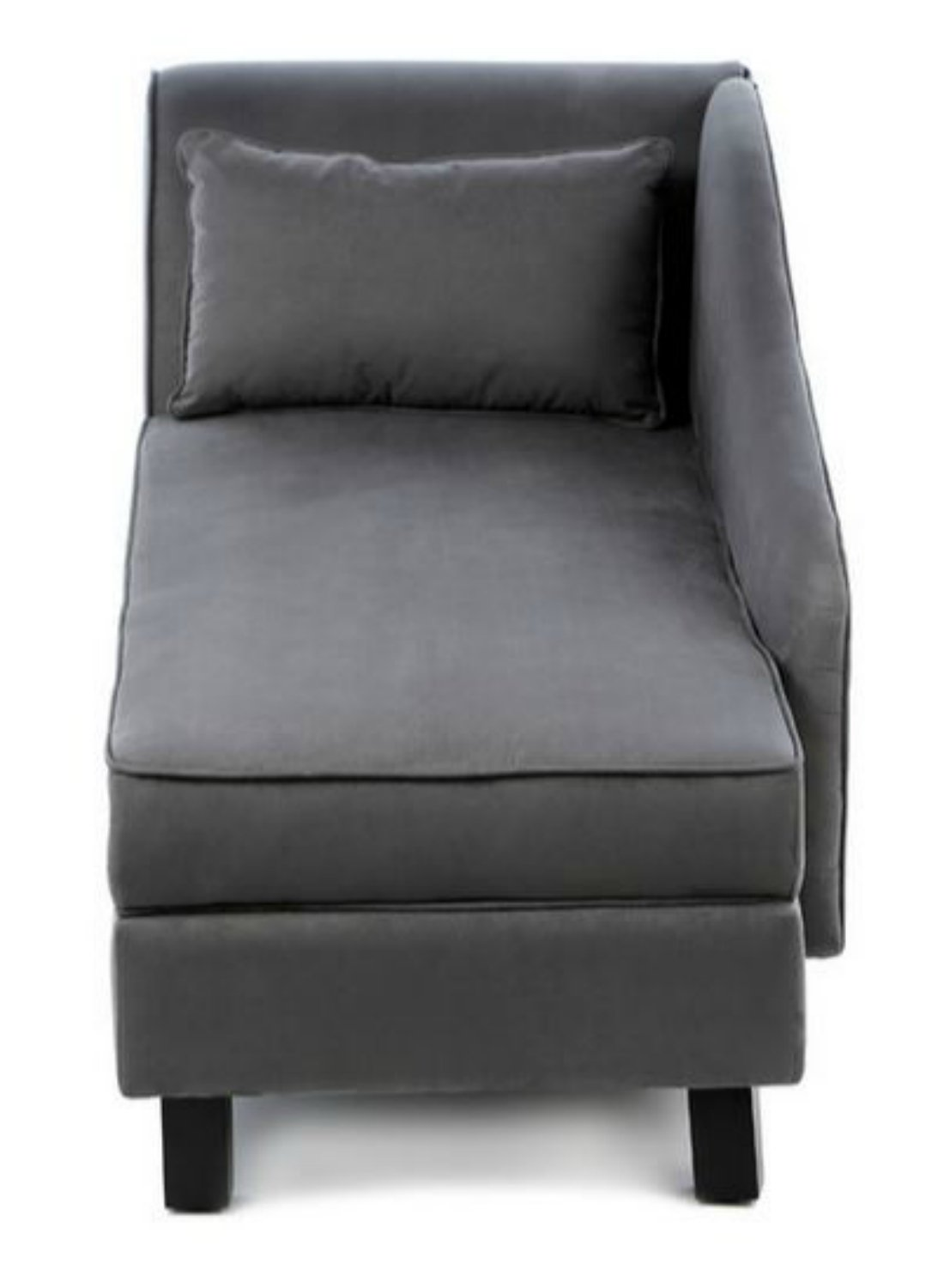 office chaise lounge chair. Amazon.com: Storage Chaise Lounge Chair -This Microfiber Upholstered Lounger Is Perfect For Your Home Or Office - Put This Accent Sofa Furniture In The L