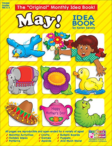 May Monthly Idea Book (The Original Monthly Idea Book!)