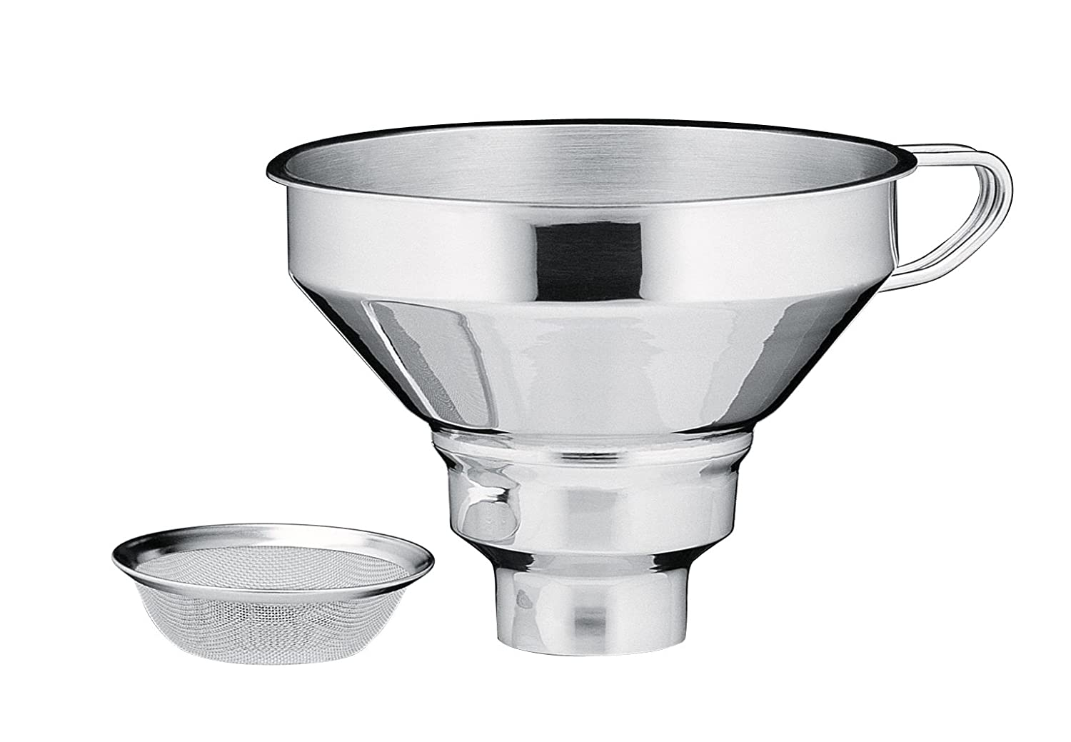 Kuchenprofi 18/10 Stainless Steel Funnel with Filter K0920152800