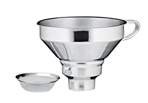 Kuchenprofi 18/10 Stainless Steel Funnel with Filter
