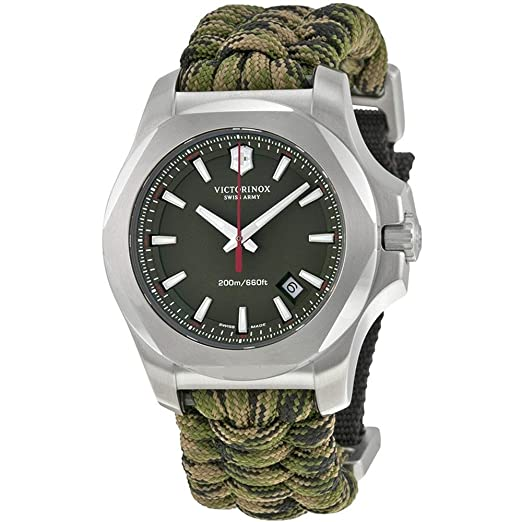 Victorinox Swiss Army - Reloj de Pulsera para Hombre i.n.o.x. analógico de Cuarzo Textil 241727.1: Amazon.es: Relojes