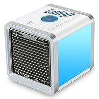 Refroidisseur D'air Portable USB Ventilateur 3 EN 1 Réglable Air Climatiseur Mini Air Refroidisseur Humidificateur Purificateur 7 LED Couleurs pour Maison/Bureau/Camping