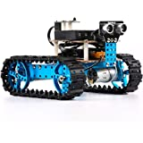 Makeblock Starter Robot Kit - Premium Quality - STEM Education - Arduino - Scratch 2.0 - Programmable Robot Kit for Kids to Learn Coding, Robotics and Electronics - Blue (Bluetooth Version)