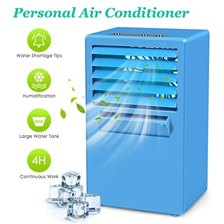 StillCool Portable Air Conditioner Cooler Fan, Personal Air Cooler Humidifier Purifier for Desk