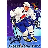 Andrei Kovalenko Hockey Card 1992-93 Ultra Import #9 Andrei Kovalenko