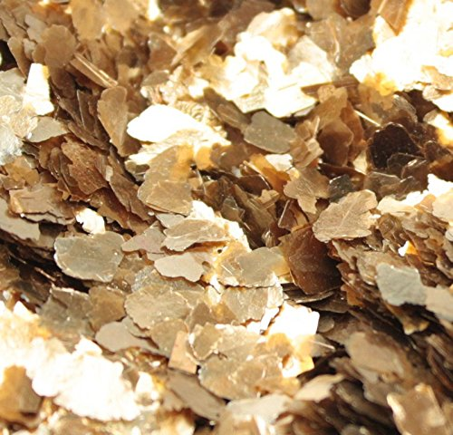 Gold - Large Flake - Natural Mica - #311-4364 (8 oz Bulk (1/2 Pound))