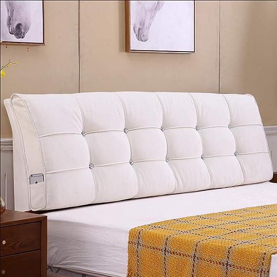 KDBZ Cojín de paquete blando de cama, cama doble Tela ...