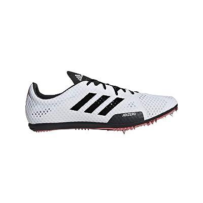 adidas Adizero Ambition 4 White/Black/Red Track Shoes (B37483): Shoes