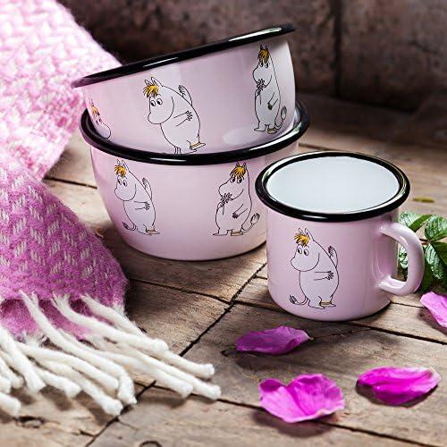 Muurla 6/DL en Acier /émaill/é snork Maiden Moomin Bol Rose