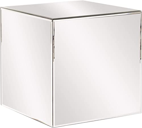 Howard Elliott Mirrored Cube Table
