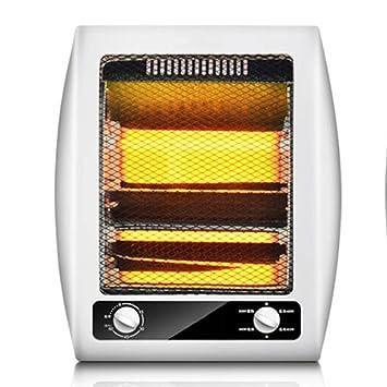 ZZHF Calentador, Dormitorio de la Oficina Estufa de asado Calentamiento del pie Vertical Vertical 800W disipador de Calor (Color : Timed): Amazon.es: Hogar