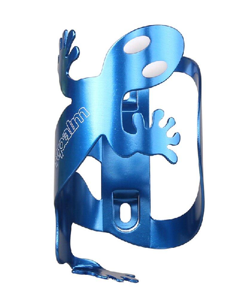 PANDA SUPERSTORE Creative Aluminium Alloy Mountain Bike Water Bottle Cage Bottle Holder Blue