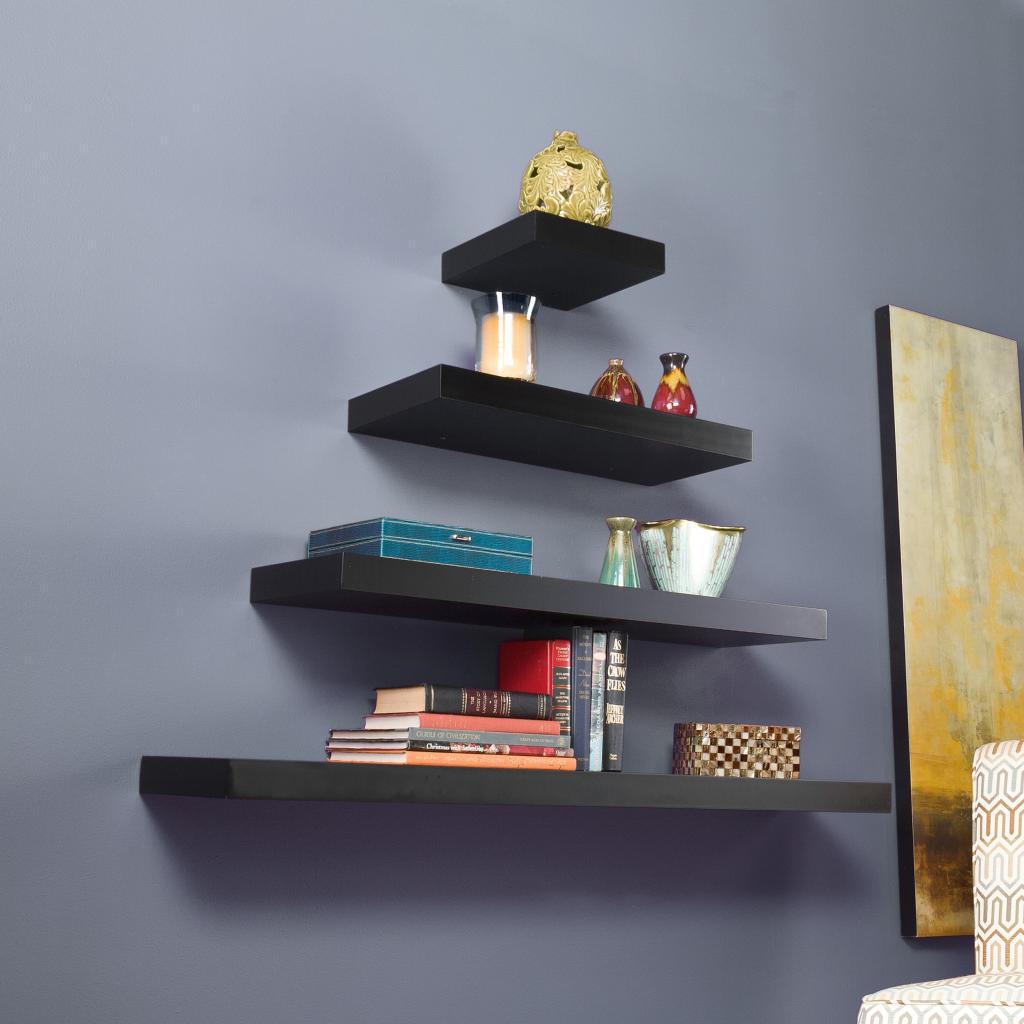 Kitchen Shelf Amazon: Amazon.com: Southern Enterprises Chicago Floating Shelf