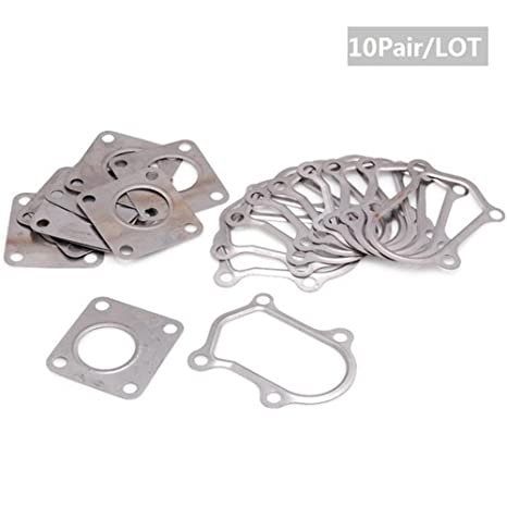 10 Pair / lot Garrett Turbo Stainless Steel Gasket Set for GT15 GT17 GT20