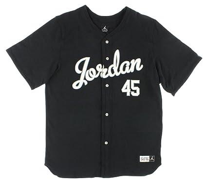 low priced 948f2 09bf2 Amazon.com : [621610-010] AIR Jordan 45 TOP Jersey Shirt ...