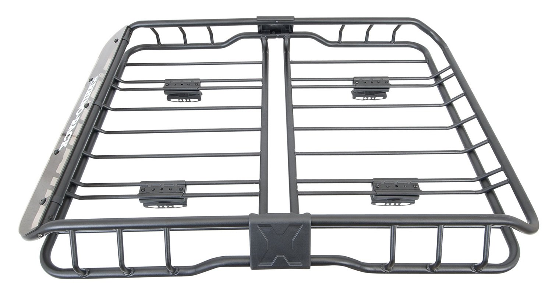Rhino-Rack USA RMCB01 Roof Mount Cargo Basket 47.2 in. x 35.4 in. x 7.8 in. Roof Mount Cargo Basket