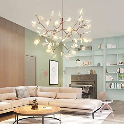 Postmodern Style Firefly Twigs Leave Living Room Dining Room