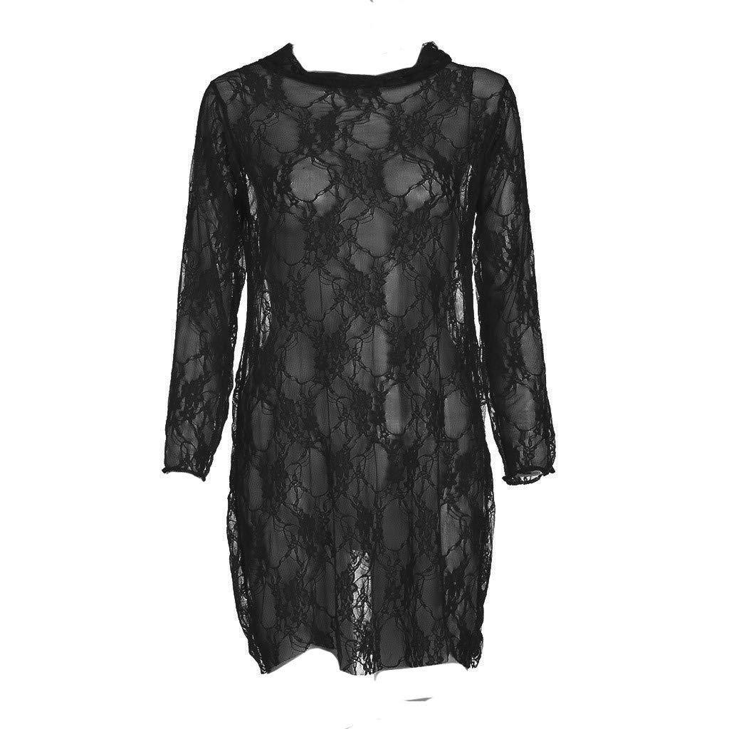 Hot New Sexy for Women Sheer Lace Babydoll Dress Lingerie ...