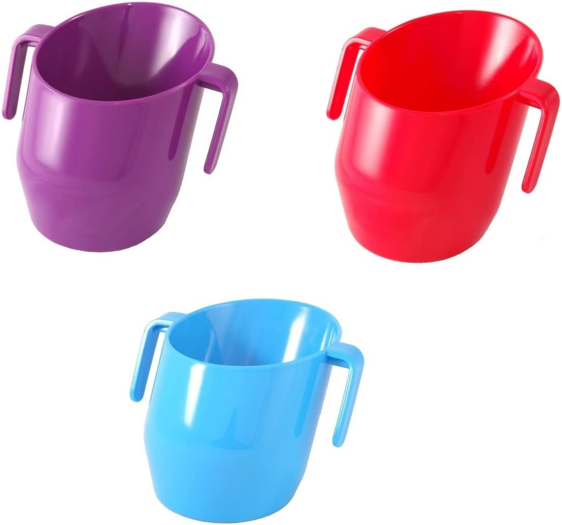 Doidy Cups 2 PACK Blue and Yellow