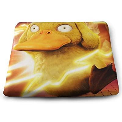Psyduck Square Cushion Thick Large Soft Mat Floor Pillow Seating for Home Decor Garden Party for Chair Pads 15x13.7x1.2Inch: Office Products