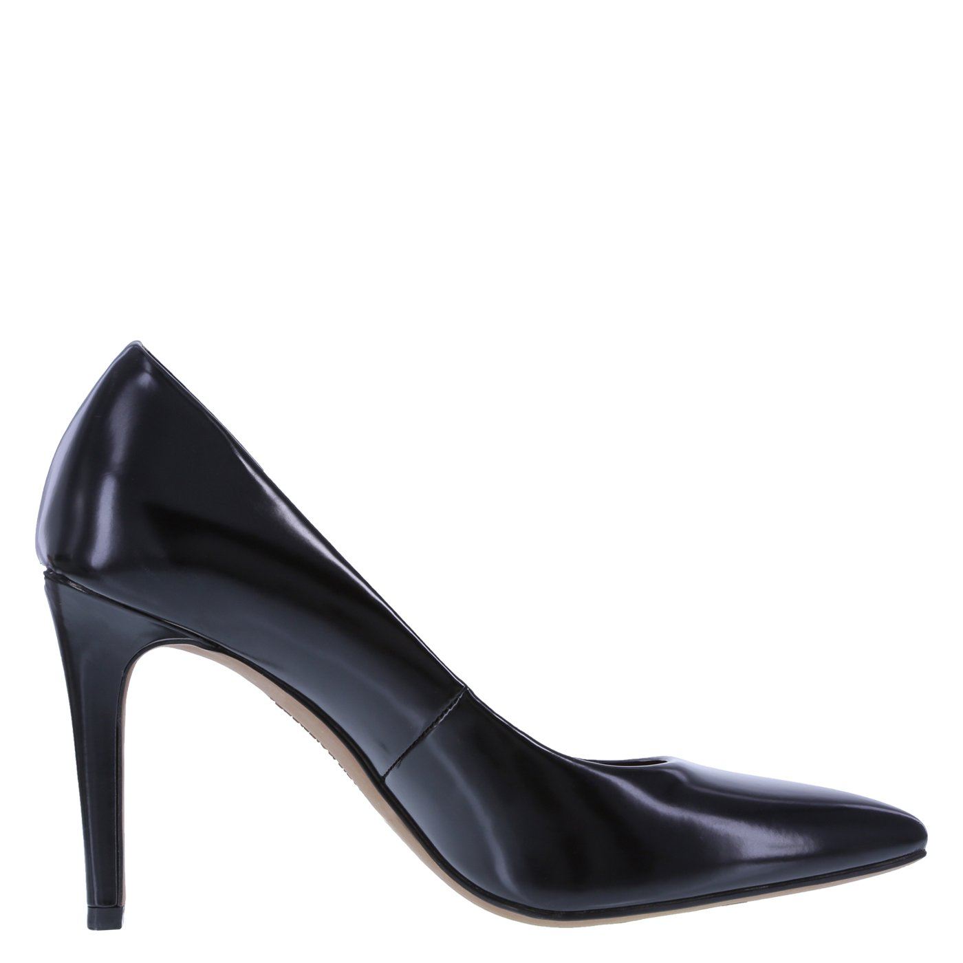 Christian Siriano for Payless Women's Smooth Black Women's Habit Pointed Pump 8.5 Regular by Christian Siriano for Payless (Image #2)