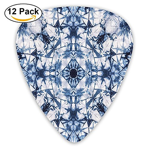 - Newfood Ss Old Fashion Kaleidoscope Loose Unfold Motley Pattern With Inner Outer Layers Guitar Picks 12/Pack Set