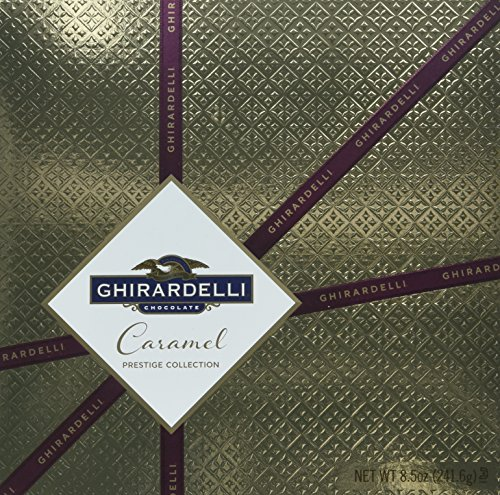 Ghirardelli Chocolate Caramel Gold Prestige Collection Gift Box