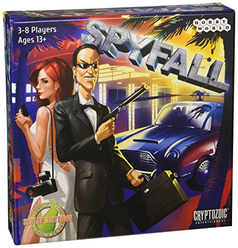 Fortune Card Game - Spyfall Card Game