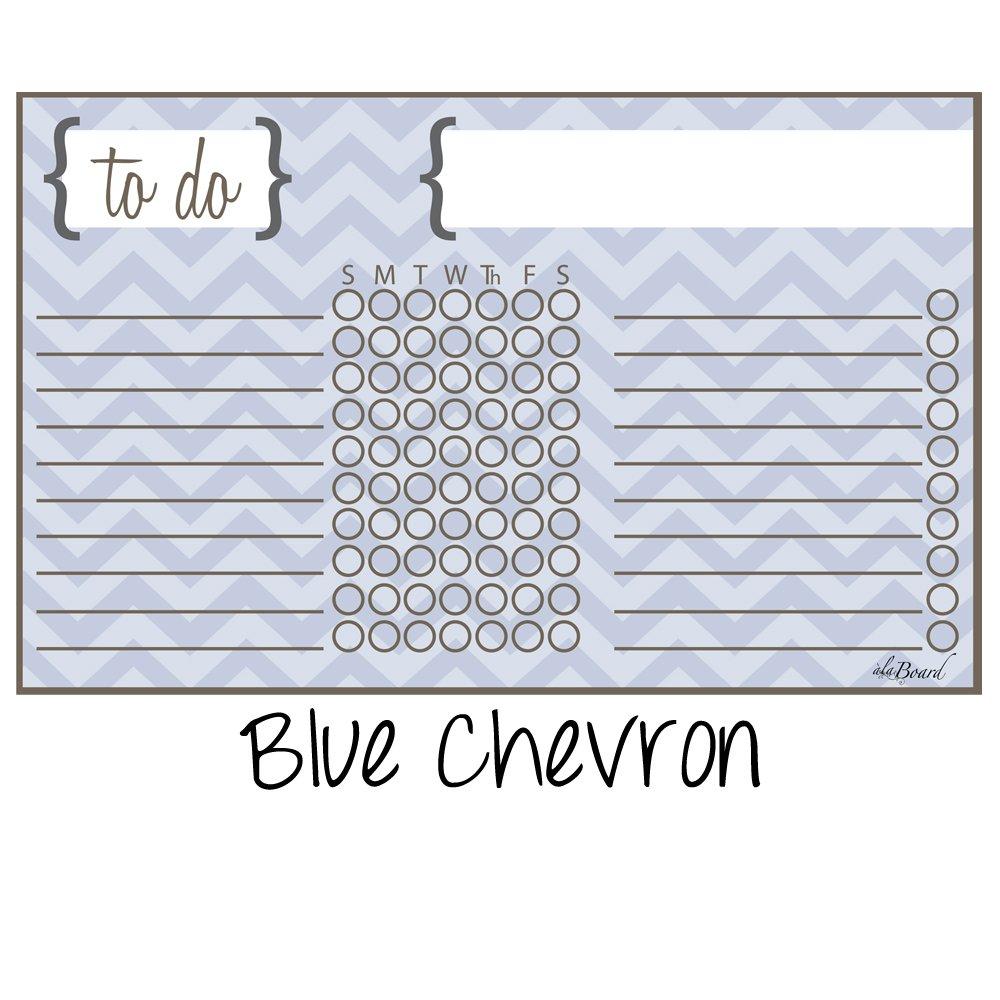 Magnet Dry Erase Chore Chart Yellow Chevron