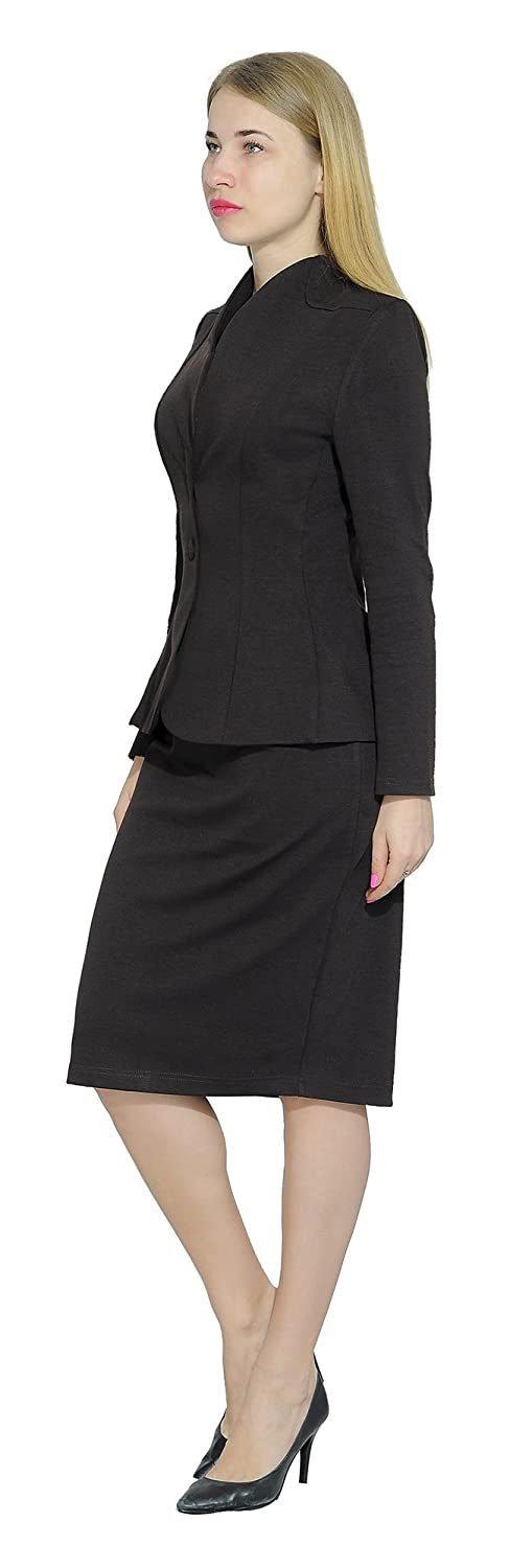 e1c684b1d Marycrafts Womens Formal Office Business Work Jacket Skirt Suit Set ...