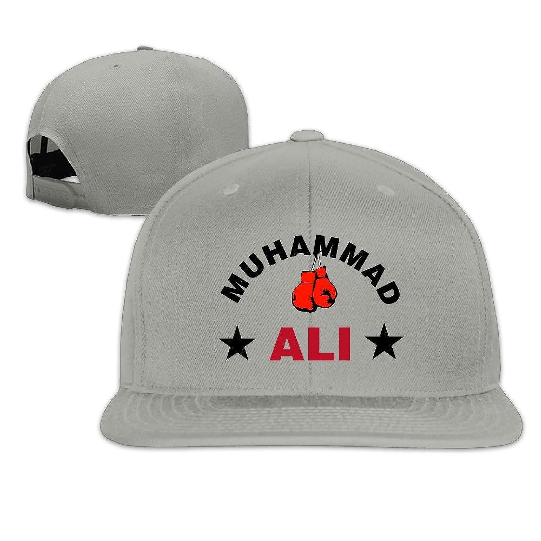 Greatest Ali With Boxing Gloves Snapback Hats Flat Brim Baseball Cap