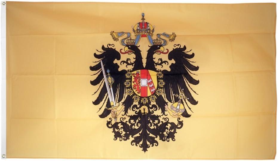 Digni Drapeau Autriche-Hongrie 1815-1915 90 x 150 cm Sticker Gratuit