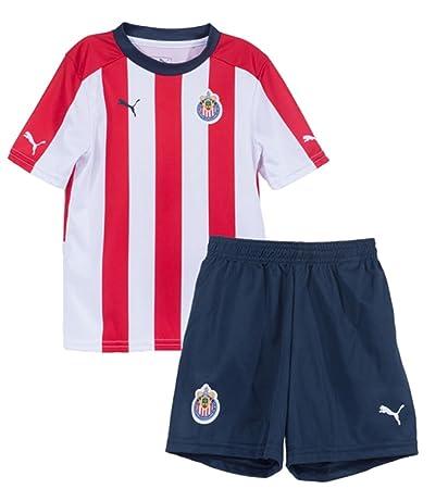 brand new 8a538 48aee Liga MX Chivas Unisex PUMA Licensed ApparelLicenced Soccer Apparel, Puma  Red-Puma New Navy