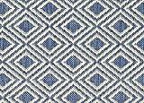 HALF ROUND 12'X6' Lanai Chambray Custom Cut Economy Indoor Outdoor Carpet Patio Area Rugs