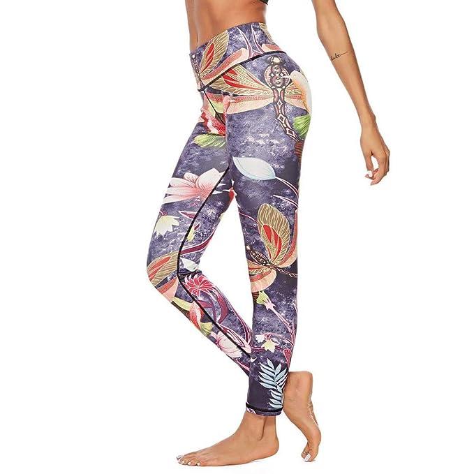 Amazon.com: WM & MW - Pantalones de yoga para mujer, estilo ...