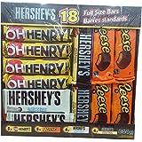 Hershey's  Full Size Bars Pack of 18, 864g