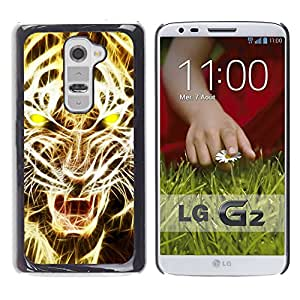 iBinBang / Funda Carcasa Cover Skin Case - Lumière jaune - LG G2 D800 D802 D802TA D803 VS980 LS980