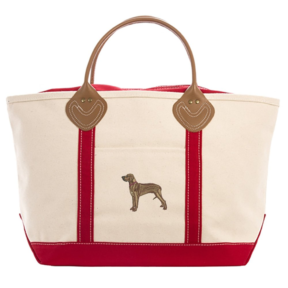 RHODESIAN RIDGEBACK embroidered tote bag ANY COLOR